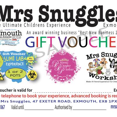 Mrs Sunggles Gift Vouchers